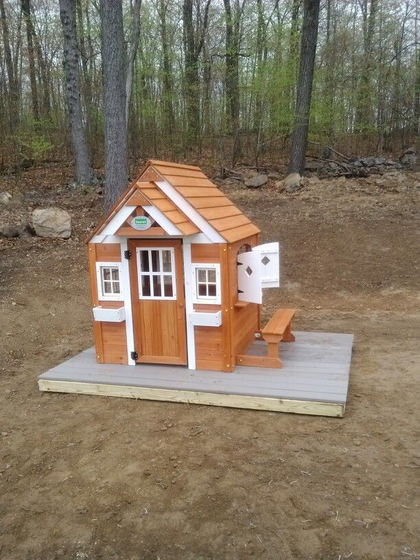 Backyard Discovery Winchester Playhouse From Samu0027s Club Installed In Mt.  Bethel, PA With A