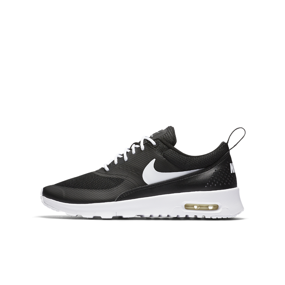 Nike Air Max Thea Big Kids' Shoe Size 3.5Y (Black