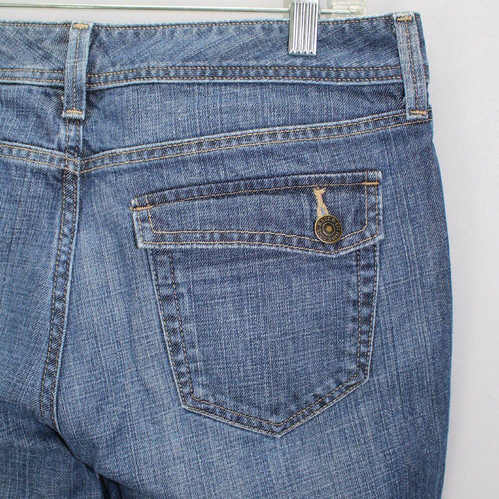 Eddie Bauer Denim Jeans Trouser Womens Sz 10 Back Pocket