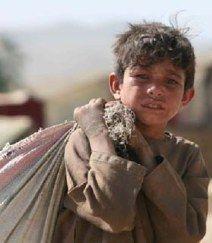 Afghan child laborer 1