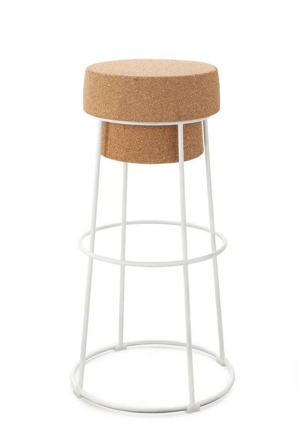 tabouret bouchon d 39 objects pinterest cork stools and bar stool. Black Bedroom Furniture Sets. Home Design Ideas