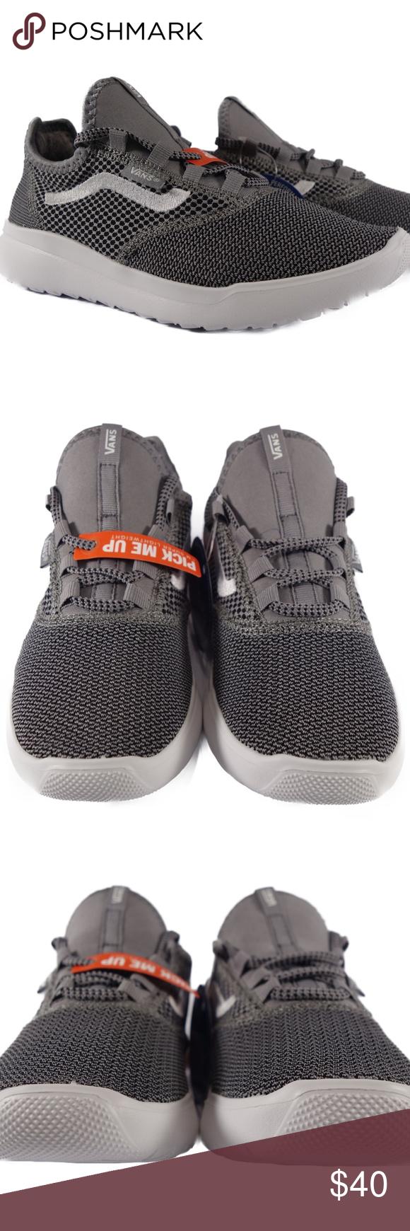 VANS Cerus Lite Mesh (Frost Grey) Kids Sneakers | White vans shoes ...