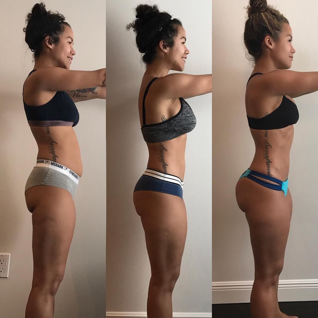 real booty building progress. this girl and her free workouts are so