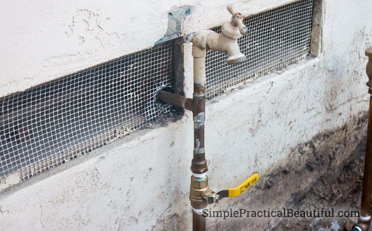 How To Install Irrigation Valves Part 1 Of The Sprinkler System Simple Practical Beautiful Irrigation Valve Sprinkler Sprinkler System