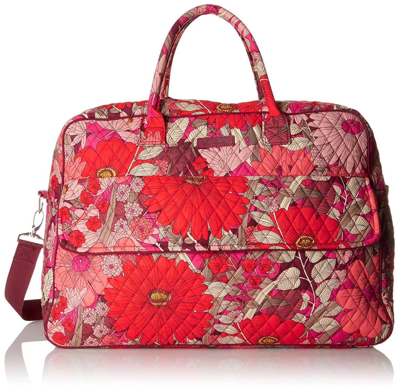 8ec1e12435 Amazon.com  Vera Bradley Women s Grand Traveler