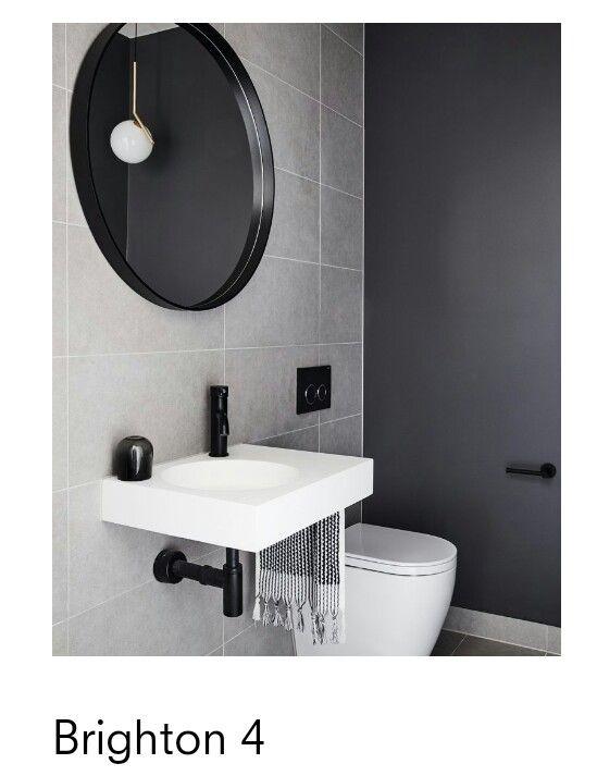 Inform Design Brighton 4 With Images Round Mirror Bathroom Modern Bathroom Bathroom Mirror