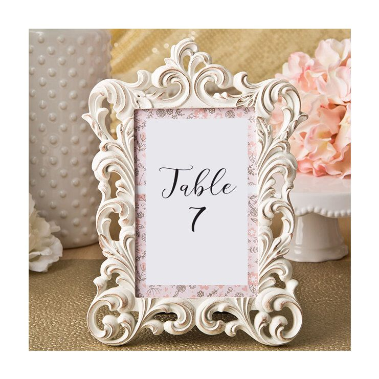Ivory And Gold Picture Frames Set Of 3