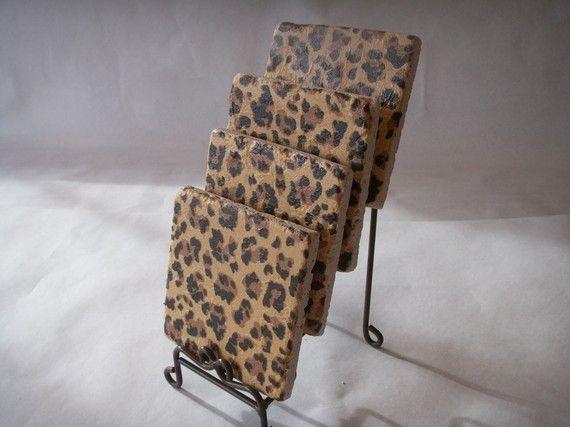 Leopard Animal Print FUNctional File Folders 12//pkg