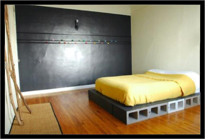 die besten 25 betonblock m bel ideen auf pinterest. Black Bedroom Furniture Sets. Home Design Ideas
