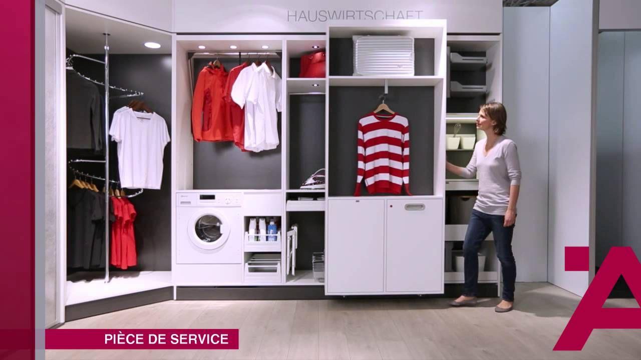 Des rangements ergonomiques grâce à Häfele : démonstration en vidéo pour bureau, penderie, chambre, dressing, buanderie, laboratoire, magasins.