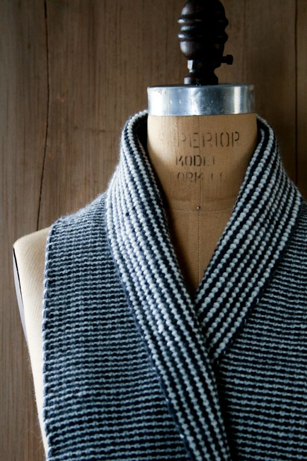Reversible Stripes Scarf - the purl bee | Tejidos Crochet ...