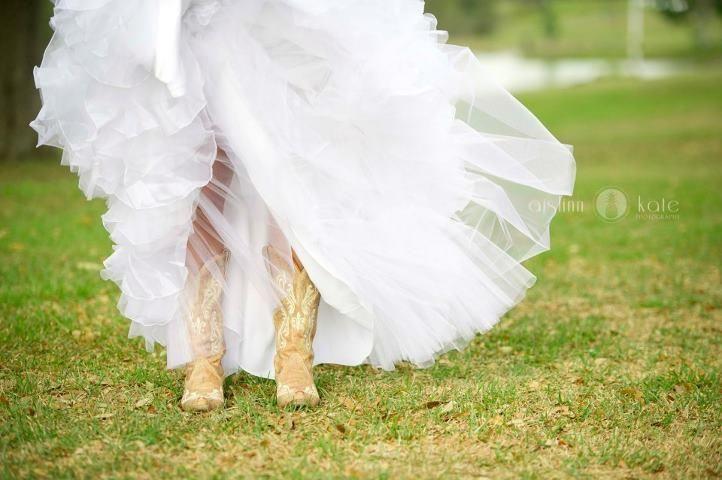 bride & boots