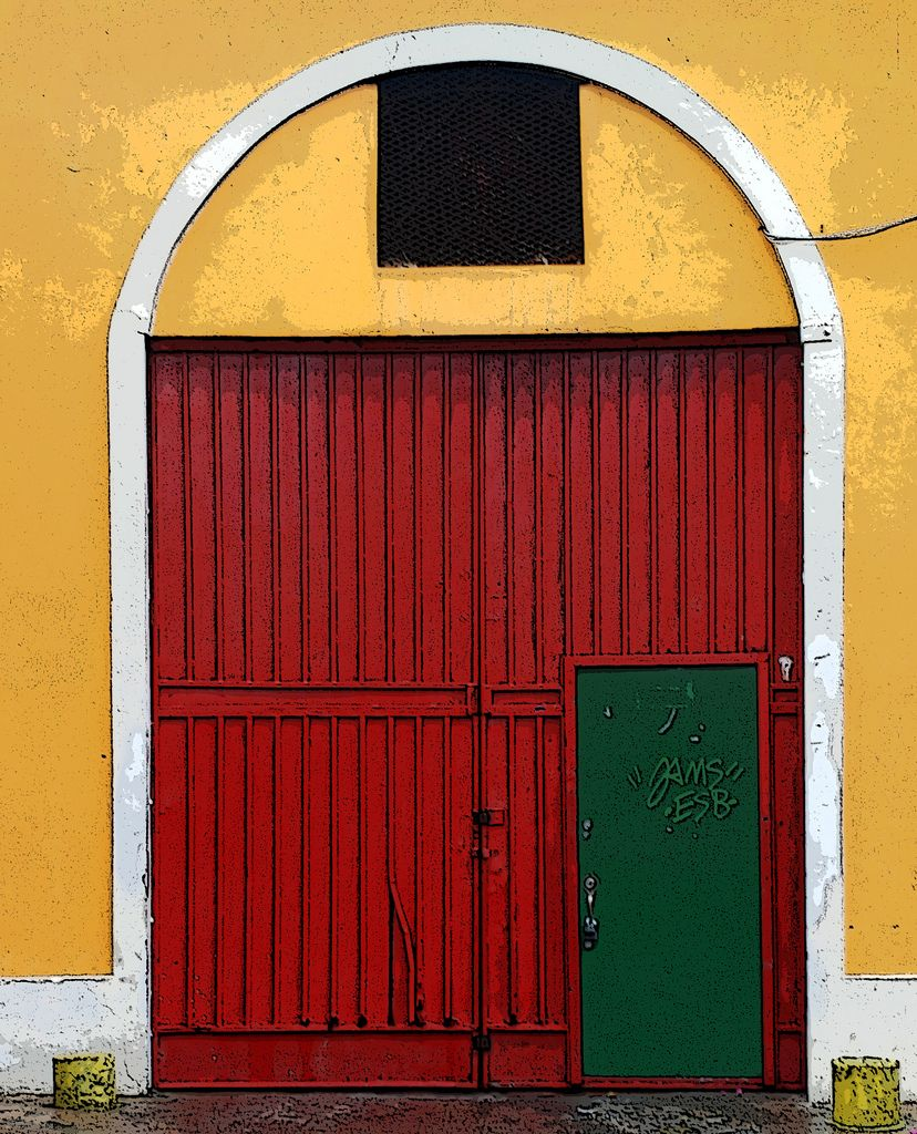 Garage Door Travel Cafe Pinterest Garage Doors San Juan