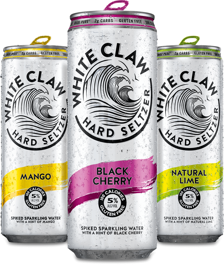 White Claw Hard Seltzer Made Pure White Claw Hard Seltzer Hard Seltzer Seltzer