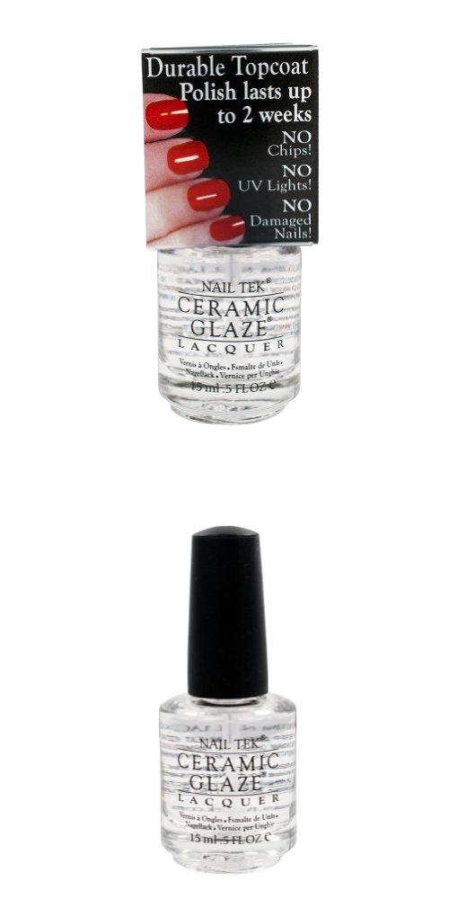 Nail Tek Ceramic Glaze Protective Durable No Chip Top Coat Lacquer ...