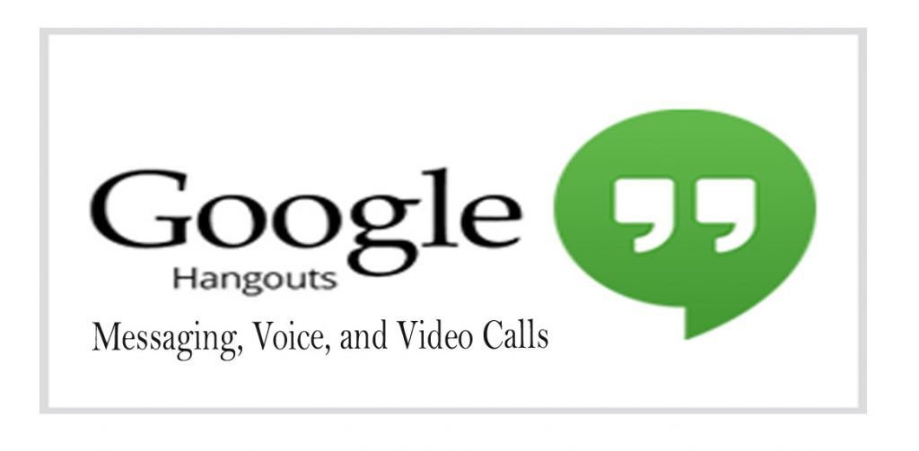 Google Hangout Google Hangout On Mobile Pc Device Newspag Google Hangouts Tech Company Logos Vimeo Logo