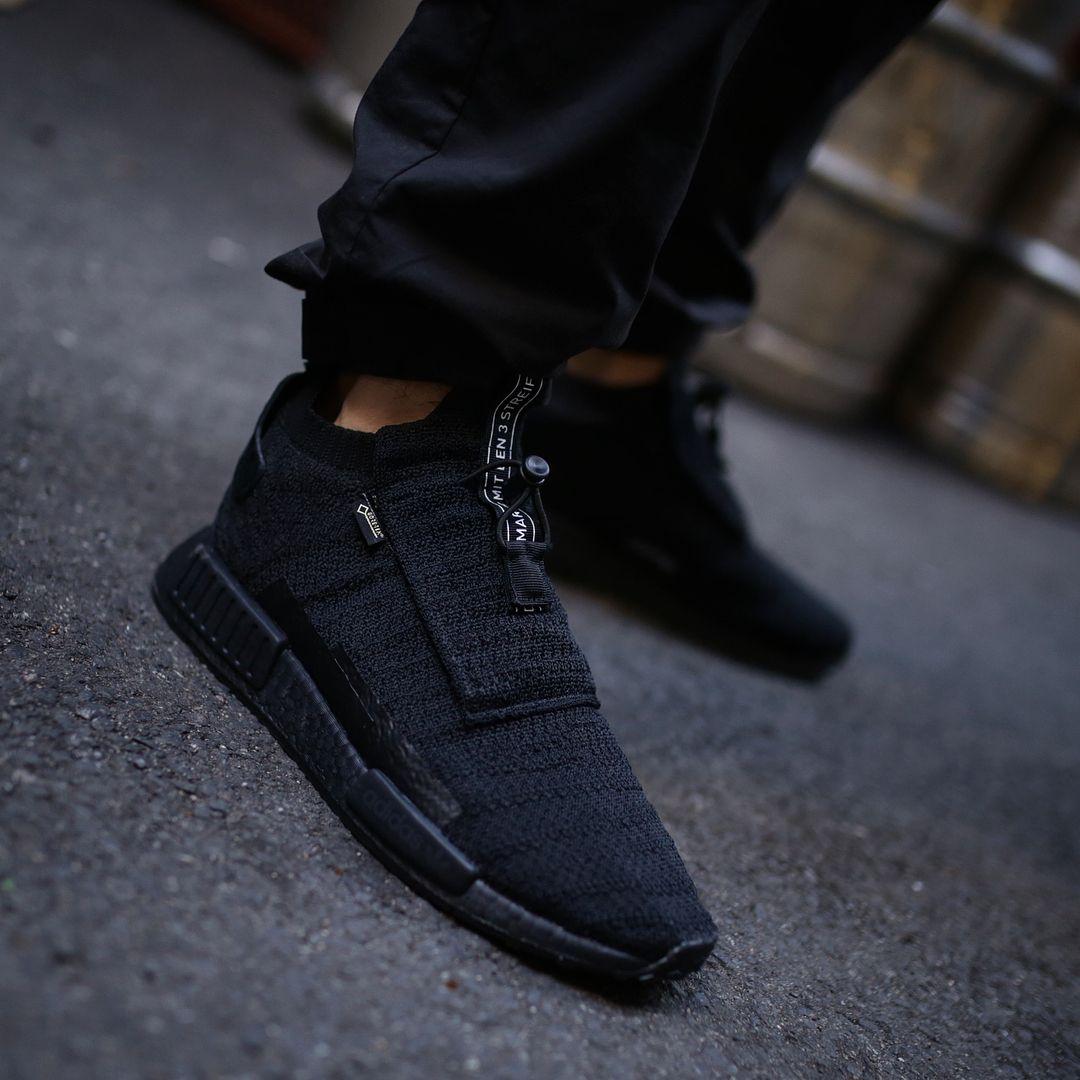 5553fe7543c115 WOW! Der neue adidas NMD TS1 GTX in Triple Black hat es echt in sich ...