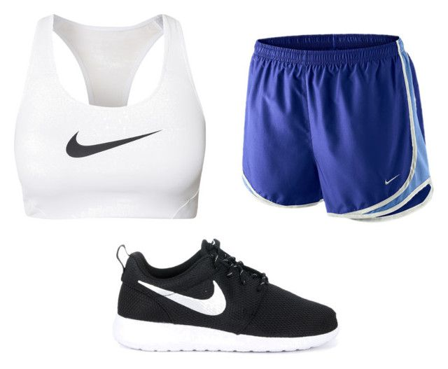 """Untitled #2257"" by sarah-michelle-steed ❤ liked on Polyvore featuring NIKE"