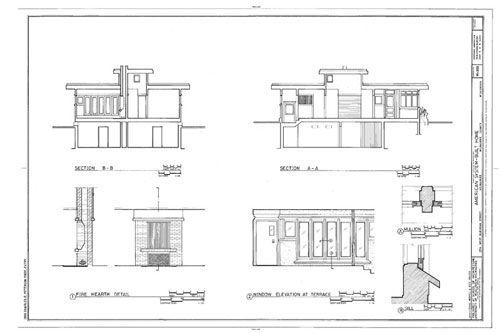 Frank Lloyd Wright Houses Frank Lloyd Wright Home Plans Frank Lloyd Wright House Plans Frank Lloyd Wri Prairie Style Houses Small House Model Prairie Style