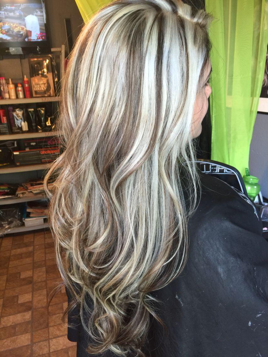 Hair platinum highlights hair make up pinterest platinum hair platinum highlights blond highlightsbrown pmusecretfo Images