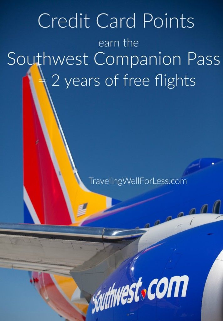 Can Credit Cards Points Earn The Southwest Companion Pass Best