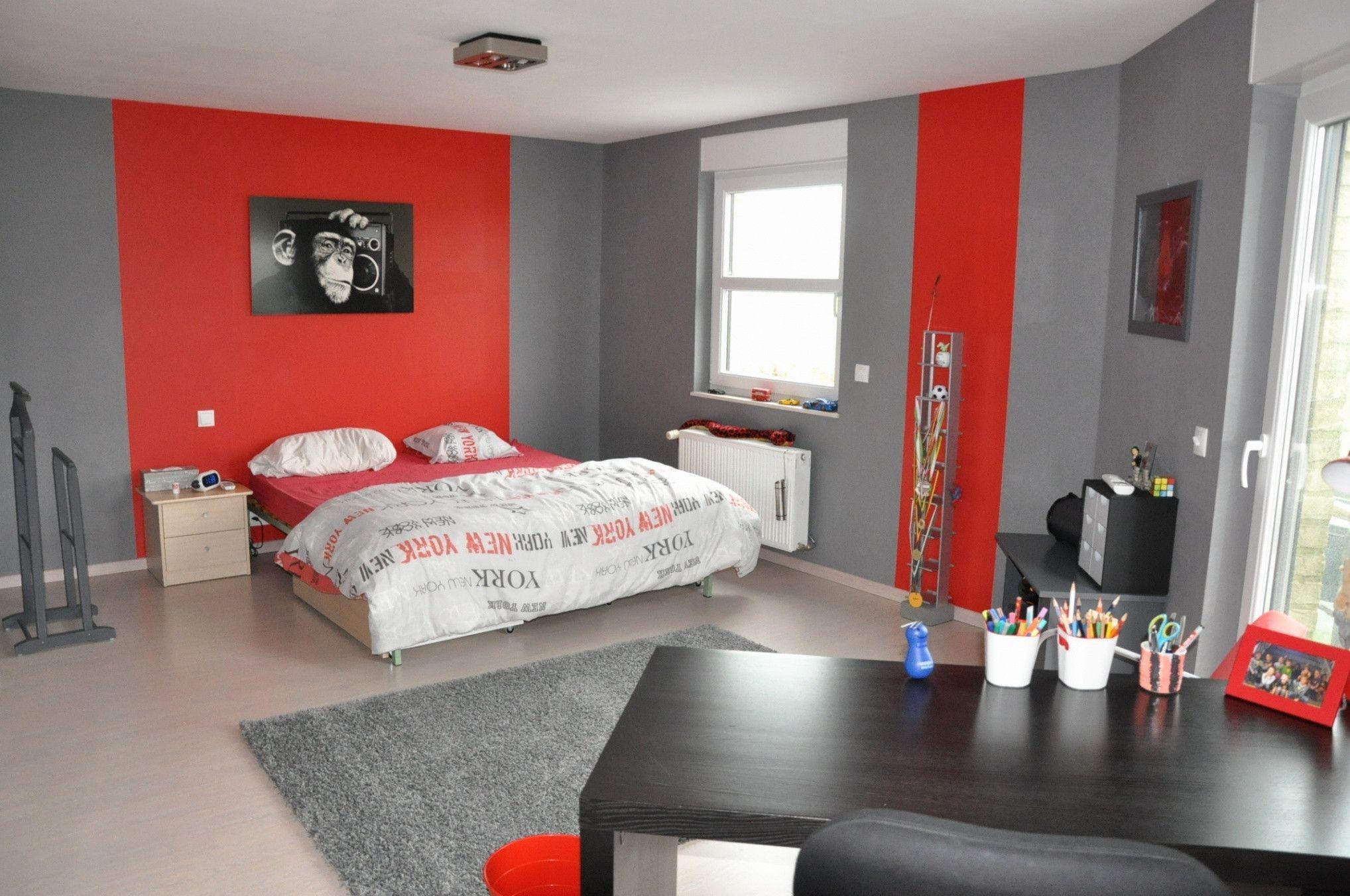 Deco Chambre Jeune Fille lovely chambre d ado moderne   couleur chambre ado, idée