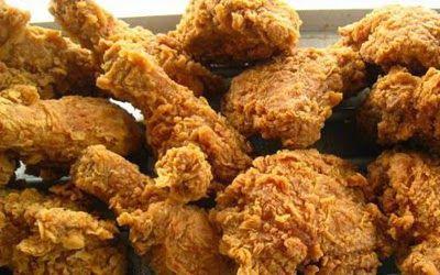 Resepi Ayam Goreng Ala Kfc Rangup Dan Mudah Homemade Ayam Goreng Resep Ayam Ayam