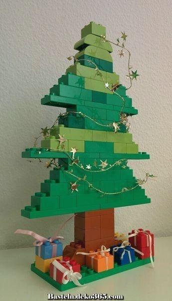 Außergewöhnlich Legokerstboom #bricolagenoelenfantfacile