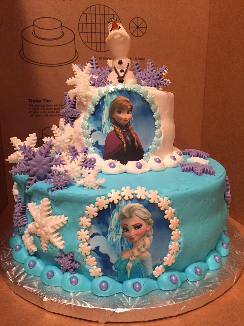 Disney frozen birthday cake cinderella birthday cake
