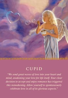 Oracle Card Cupid Spiritual Love Angel Oracle Cards Angel Therapy