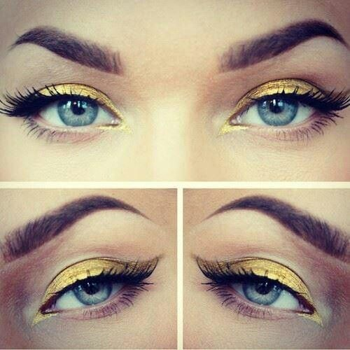 Love #prom #eyes