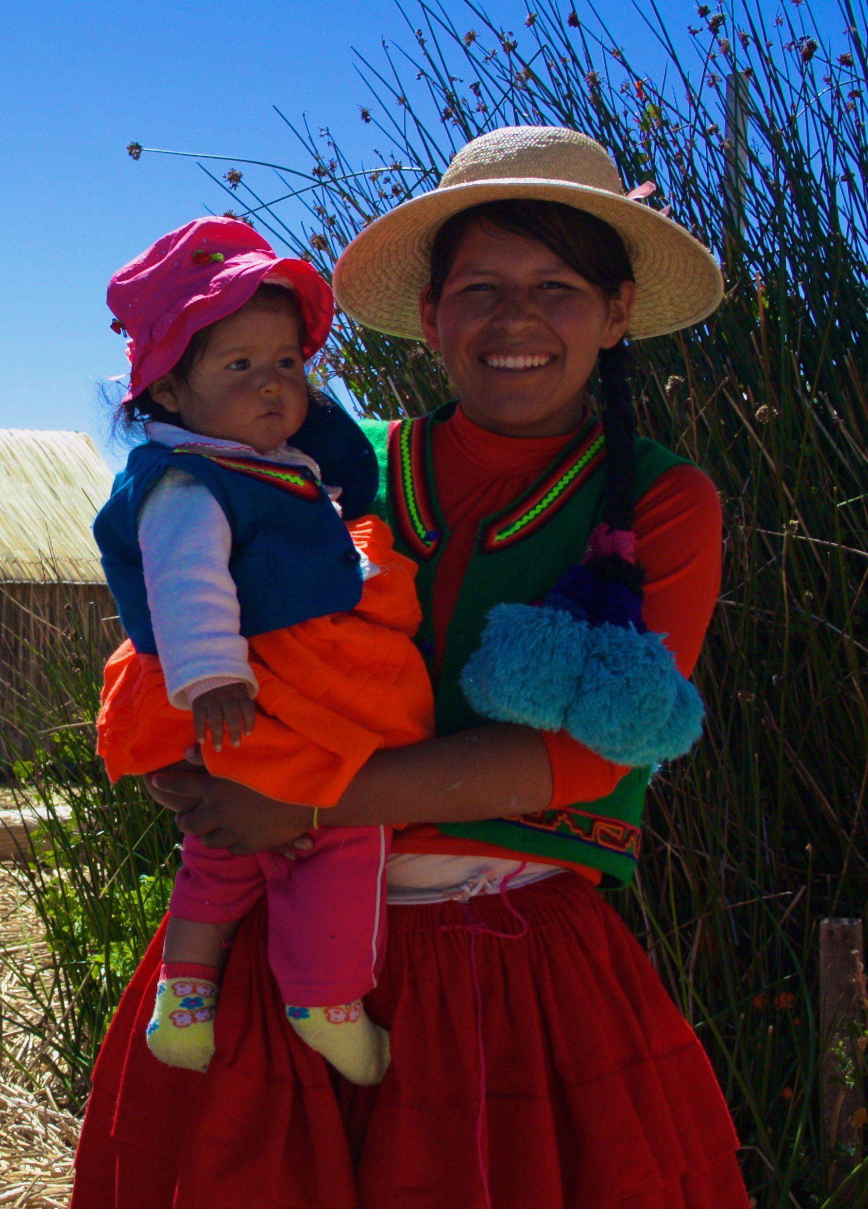 Peru women showing skin know, how