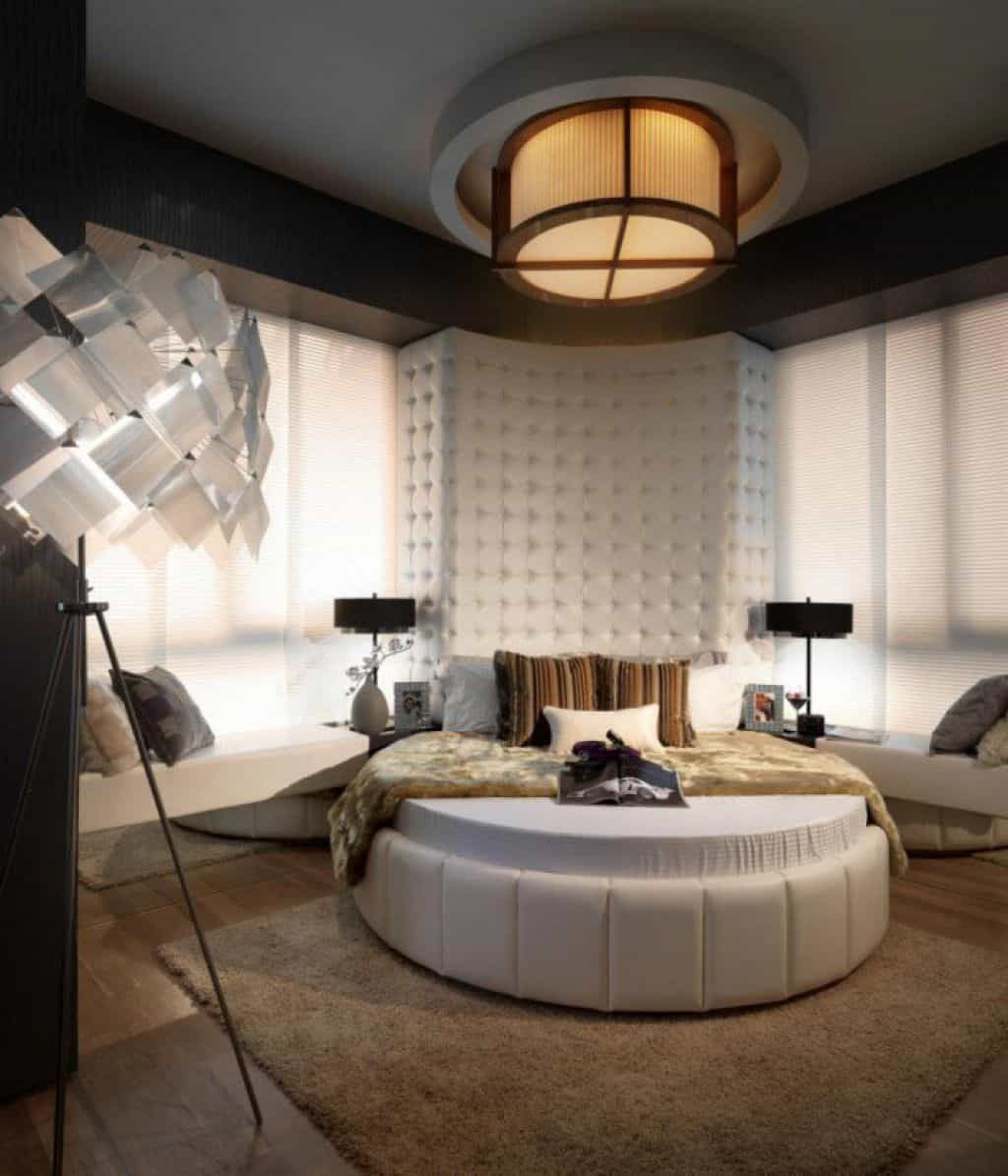 Round Bed Desing Ideas For Your Modern Bedroom in 2020 | Round beds, Bedroom  design, Bed design