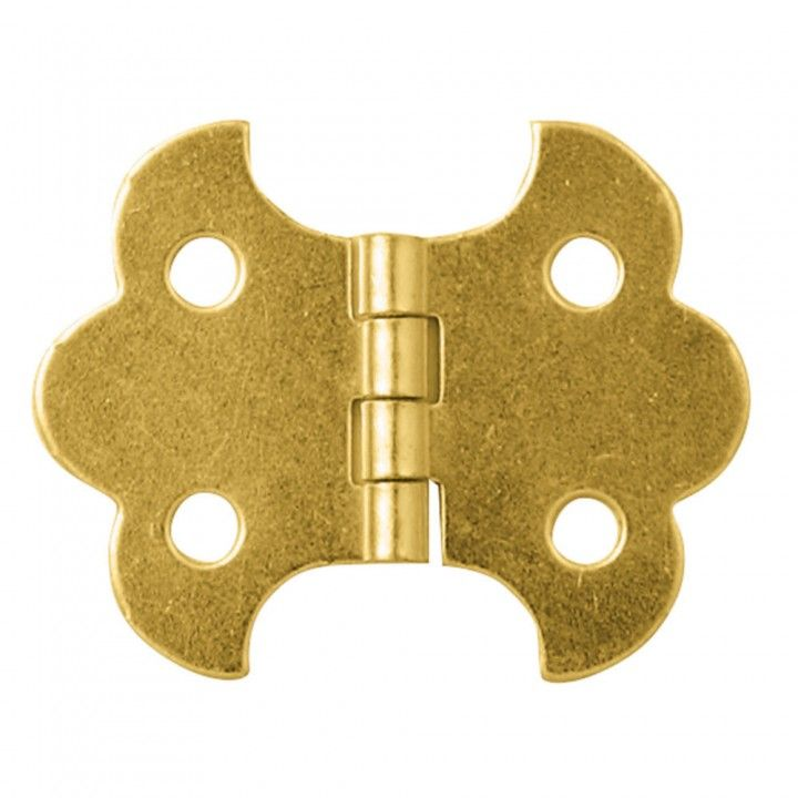"""Decorative Box Hinges Best Brassplated Butterfly Smallbox Fastener Hinge 1 14""""l X 58""""w Review"""
