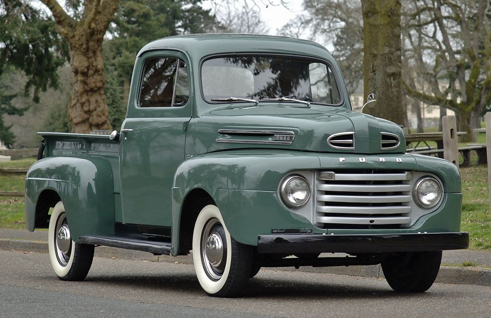 Bonus Built 1949 Ford F1 Pickup Pickup Trucks Ford Pickup Old