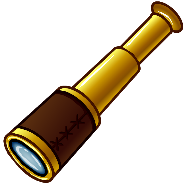 buy vintage maritime brass 6 nautical pirates spyglass telescope rh pinterest com Pirate Sword Clip Art Cute Pirate Clip Art
