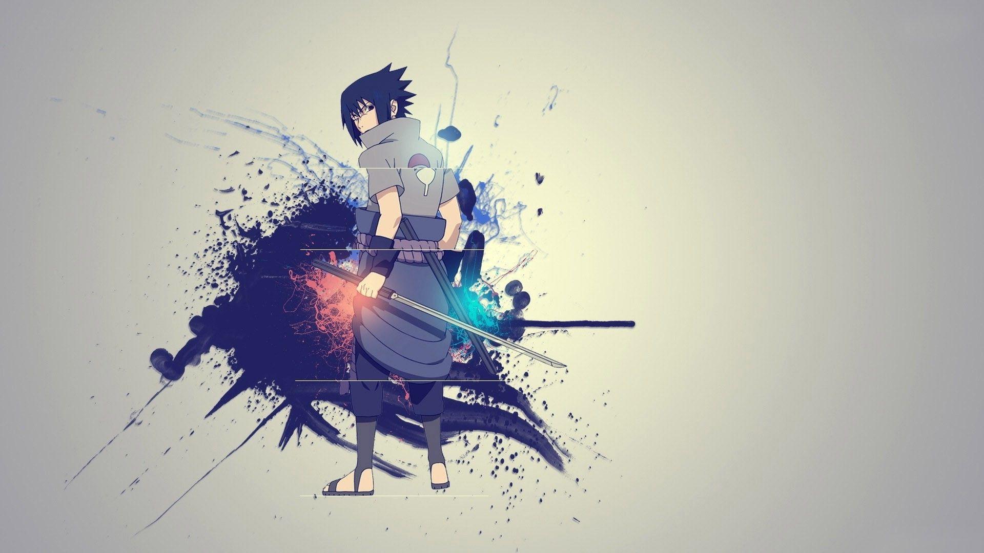 Anime 1920x1080 Uchiha Sasuke Anime Naruto Shippuuden