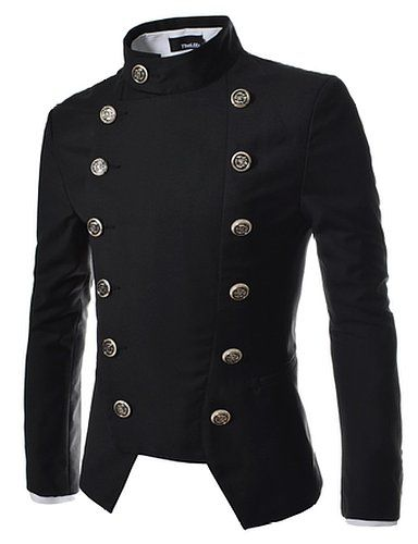 TheLees Mens Double Breasted Slim Fit Jacket Blazer $57.99 http ...