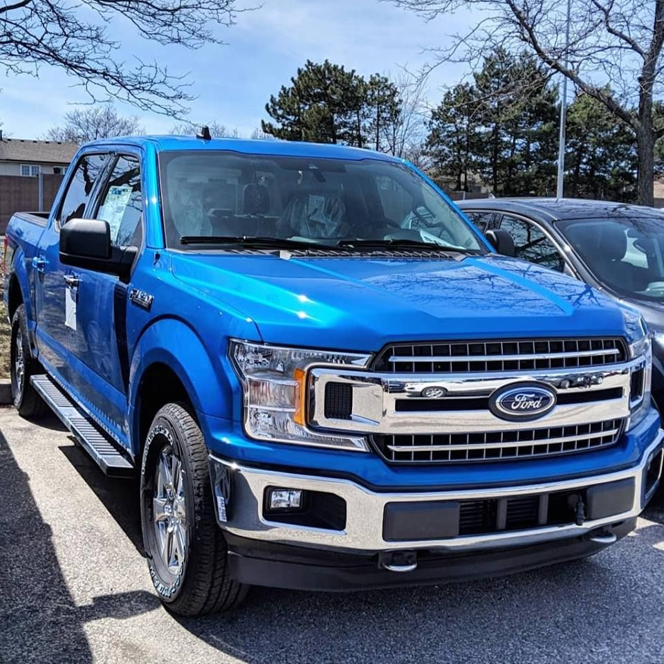 Ford F150 Blue Ford F150 Ford Deals