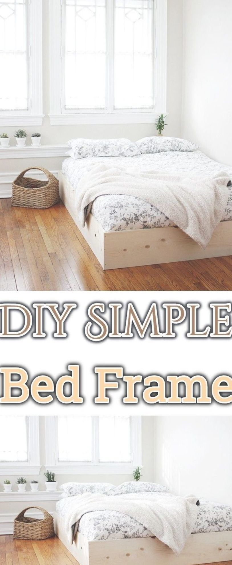 How To Build A Beautiful Diy Bed Frame Wooden Bed Frames Easily