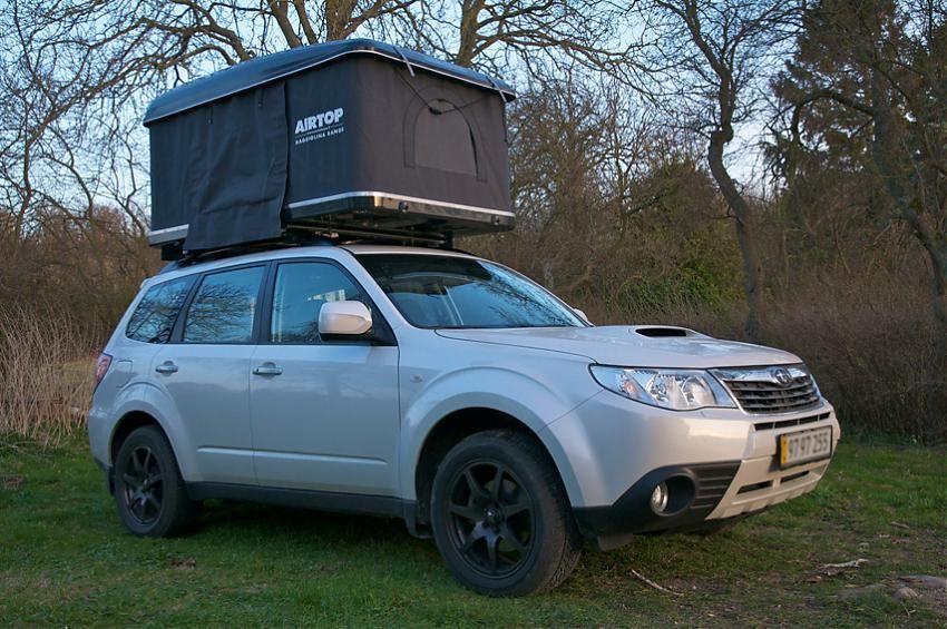 airtop tent open Adventure car, Top tents, Subaru forester