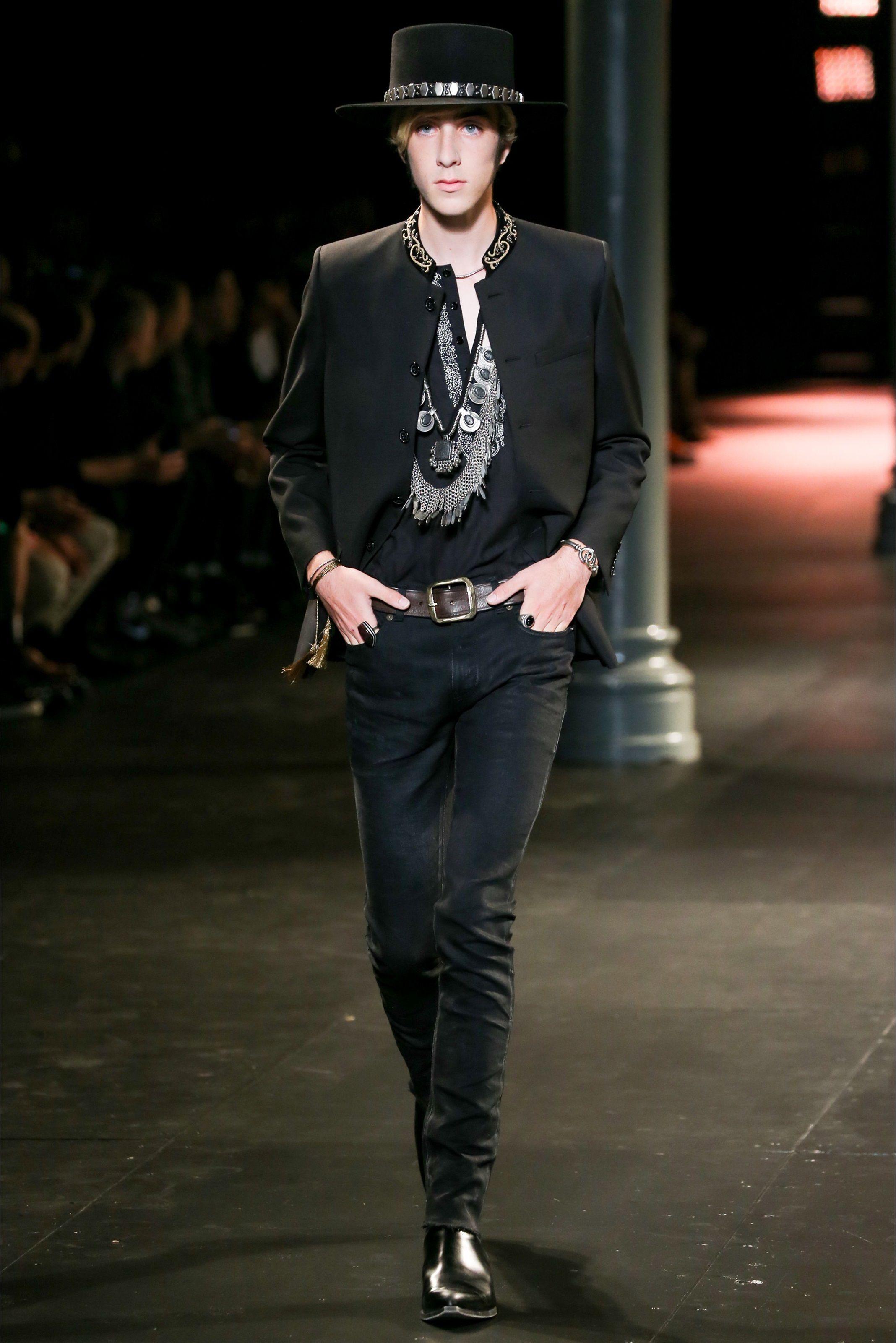 Saint Laurent - Men Fashion Spring Summer 2015 - Shows - Vogue.it