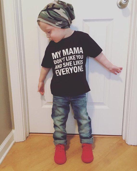 My Mama Don 39 T Like You Toddler Tee Justin Bieber Lyric Trendy Sizes 12months 5t Toddler Shirts Boy Toddler Tees Toddler Boy Fashion