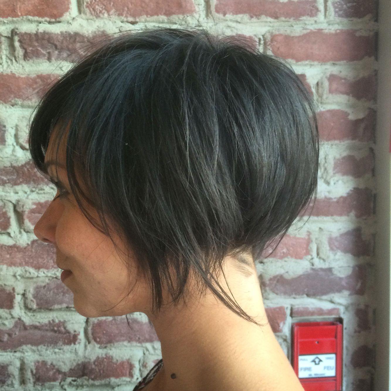 Short hair bob undercut trishjames inc pinterest hair bobs