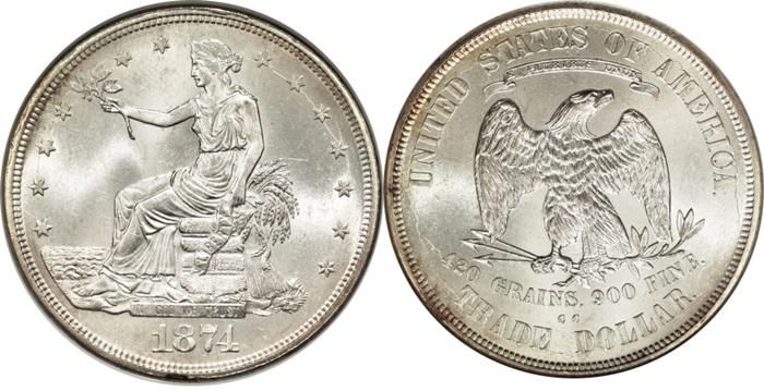 Trade Silver Dollar 1873 1885 Us Coin Facts Images Buy Gold And Silver Forex Dollar