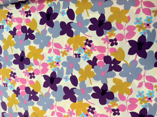 Retro floral print from the La Vie en Rose collection from Kei (via True Up)