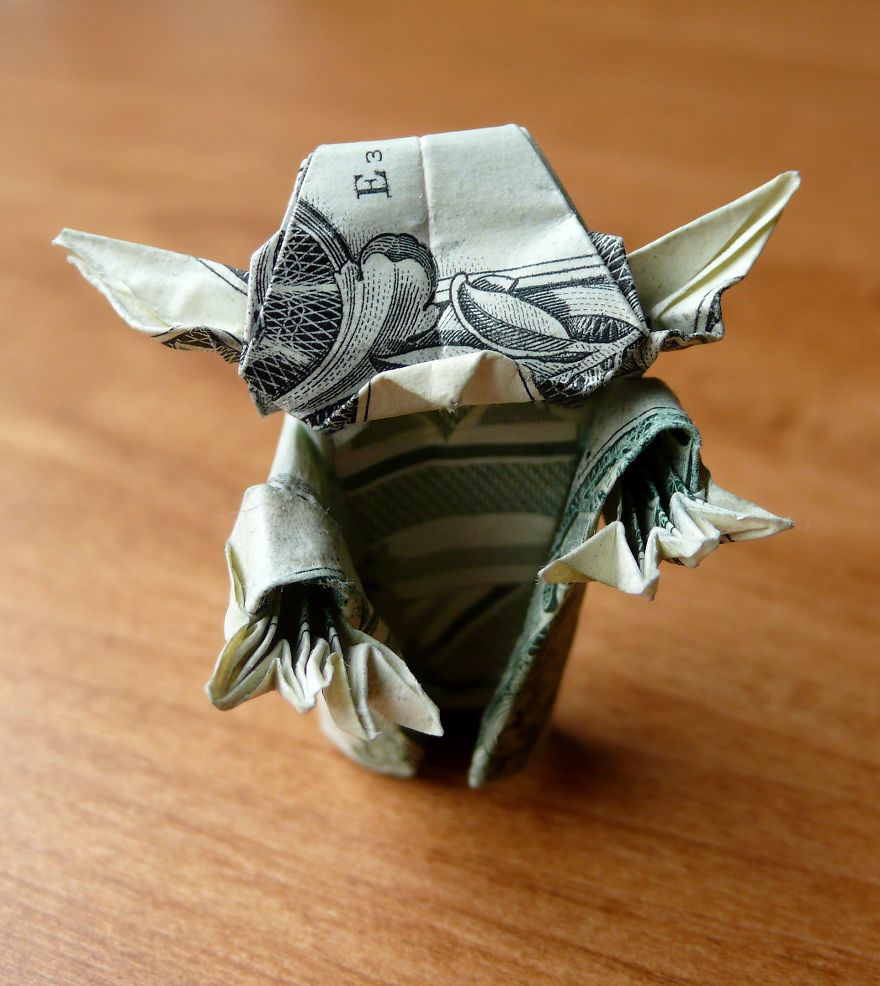 Dollar bill origami by craigfoldsfives dollar bill origami dollar bill origami by craigfoldsfives jeuxipadfo Choice Image