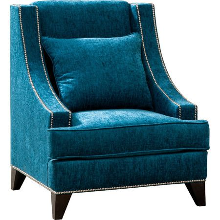 Curl Up In This Elegant Accent Chair With A Cup Of Chai