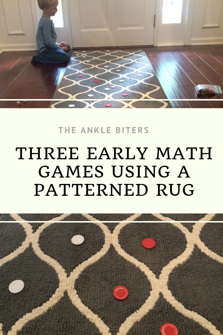 When I bought this new rug for my entryway I had no idea how much fun my kids would have with it. We came up with three new math games that would ...