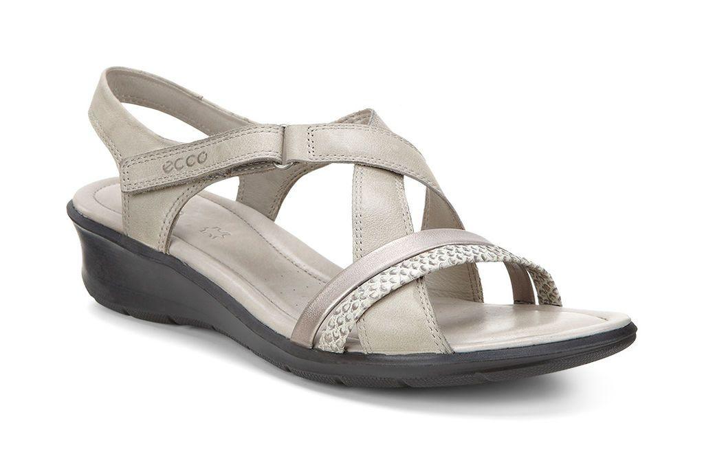ECCO Felicia Sandal (MOON ROCKMOON ROCK) | Leather sandals